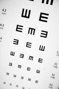ophthalmologists eye chart